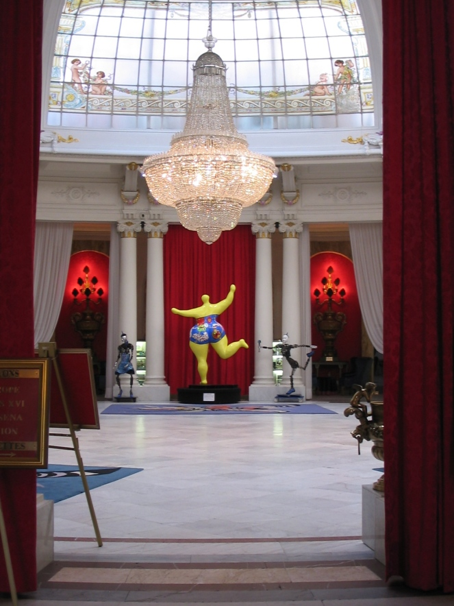 inside Hotel Negresco