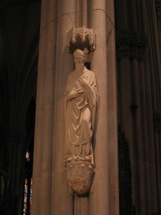 statue St. Patrick
